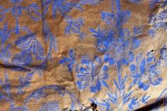 Det blå papirtapetet i Skomakerstua