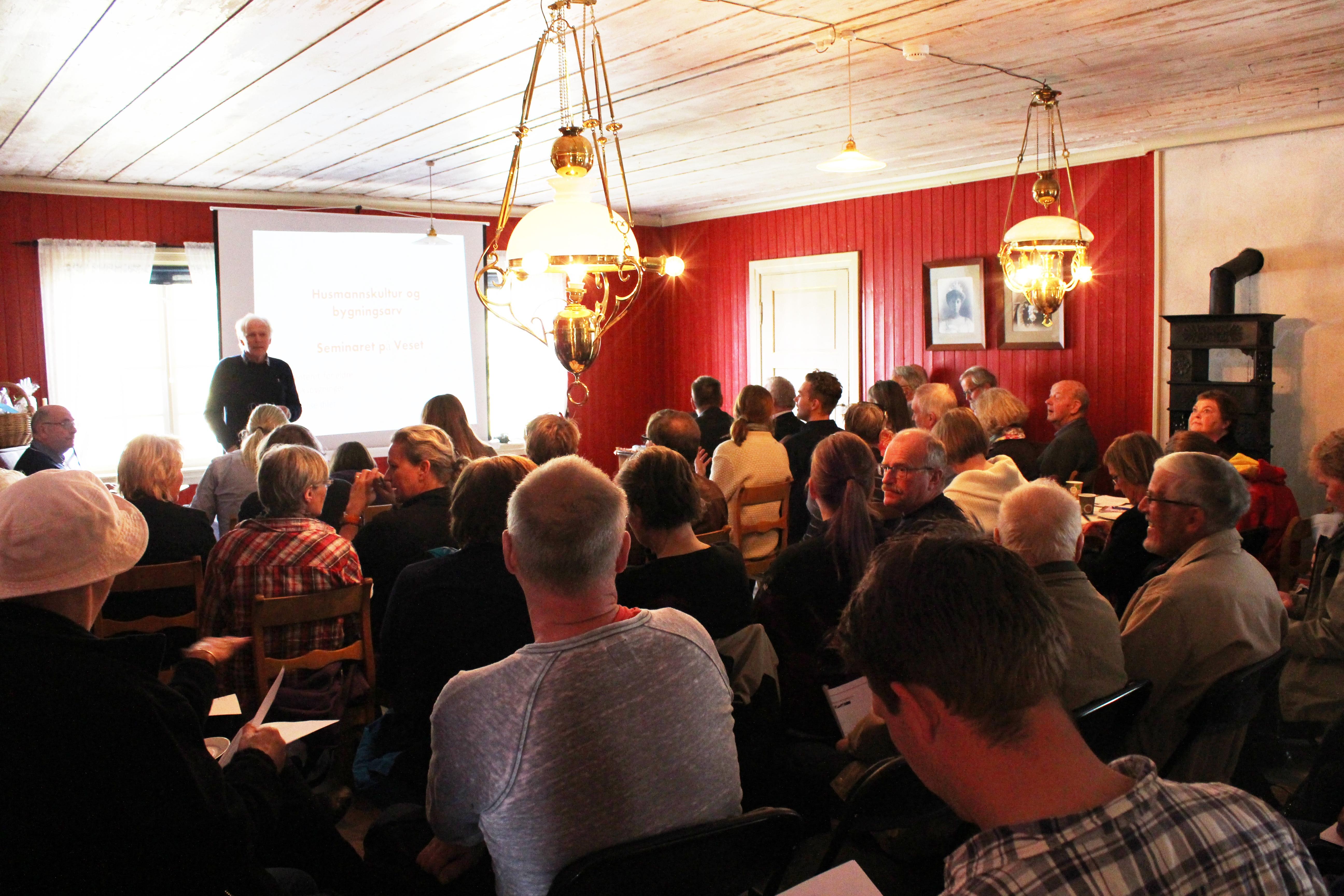Samlet til seminar
