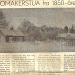 ..og slik så det ut på Skomakerstua da Raumnes skrev sak rundt 1970